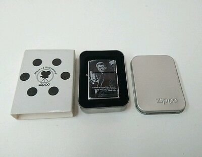 Zippo Lighter James Dean (20689) New in metal can