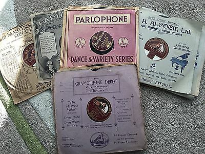 Assorted 1930's Dance Band 78 rpm Records