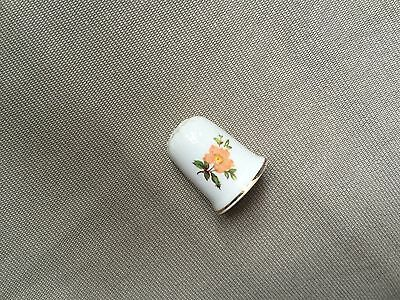 Antique Hand Painted Thimble - Fine Bone China Made in England