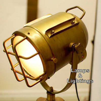 Hollywood Marine Antique Restoration Nautical Floor Lamp Victorian Home Decor