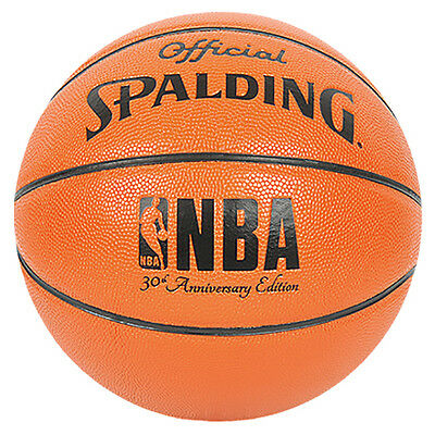 Spalding NBA 30th Anniversary Edition Official Basketball Ball 74-567z Size 7