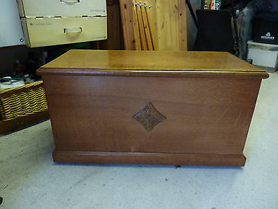 Chest, solid oak