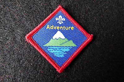 Current Series Scout Discontinued Challenge Badge - Adventure (2236)