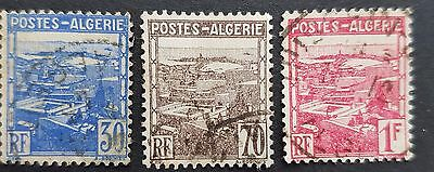 Complete set - View of Algiers 1941 used stamps for sale see below