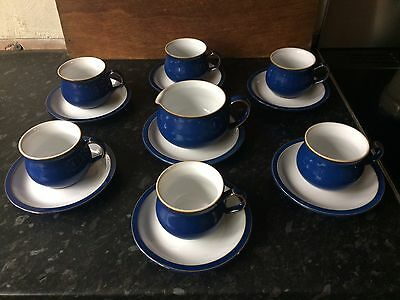 Denby Ware. Coffee Set. Imperial Blue