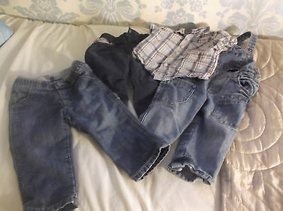 Benetton Baby Boys Clothes Age 9-12 Months