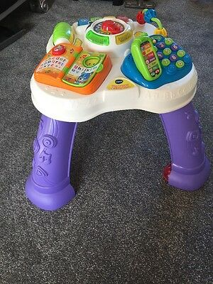 Vtech Baby Play And Learn Table