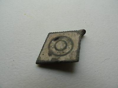 Rare Scandinavian Viking Period Amulet With Glass Paste