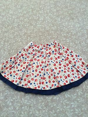 Sarah Louise Girls Cord Skirt Age 6