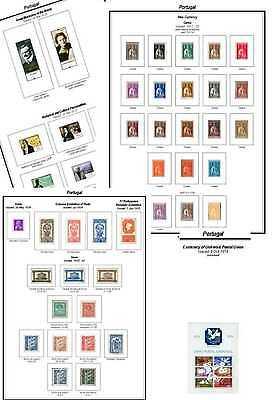 Print a Portugal  Album Fully Annotated & Completely Colour Illustrated