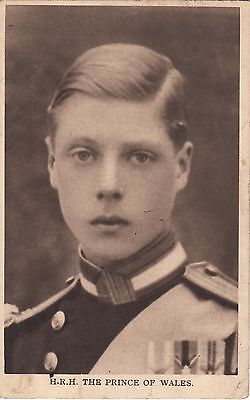 H.R.H. The Prince of Wales - 1917 postcard