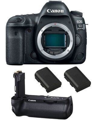 Canon EOS 5D Mark IV Digital SLR Camera - FREE SanDisk 64GB Extreme CF Card!