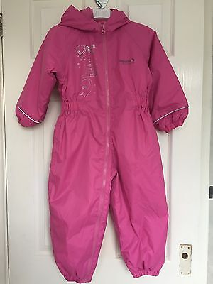 Girls Fleece Lined Trespass All In One Suit - 2-3 Years NEW