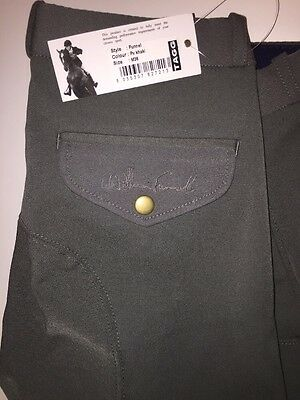 William Funnell Tagg Men's Riding Breeches Green  New With Tags!