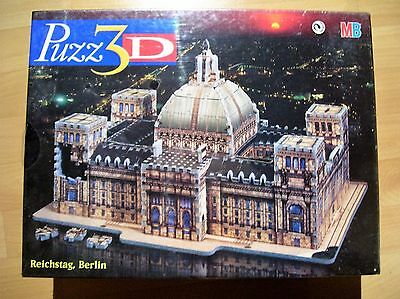 MB Puzz 3D - Reichstag, Berlin - 621 Teile - NEU/OVP in Folie - 3D Puzzle -
