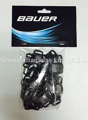 Bauer Hockey Helmet FM Sliding Plastic Buckle! 24 Buckles, Helmet Hardware Kit