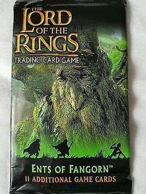 Lord of the Rings Ents of Fangorn 11 sealed cards new