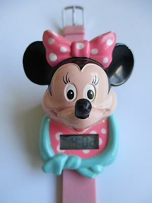 Minnie Mouse Novelty Talking Watch - 1991