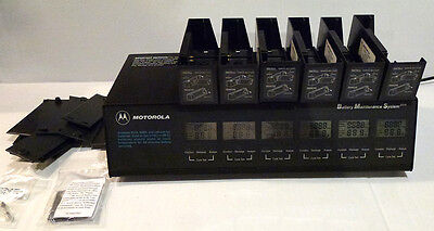 Motorola Conditioner Battery Maintenance System PLUS WPLN4079 6-Bay w Adapters