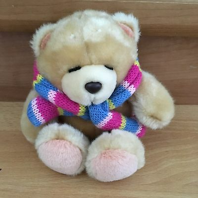 Forever Friends Winter Scarf Bear Vgc
