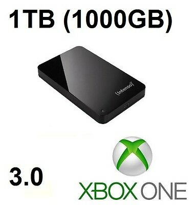 External Hard Drive for Xbox One - 1000GB / 1TB - Xbox One Extra Memory/Storage