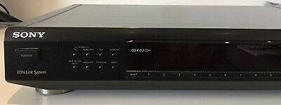 SONY ST-SE500 RDS Eon Analogue Hi-Fi stereo FM AM tuner radio