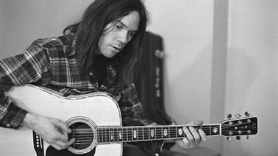 Neil Young Awesome Unsigned 8X10 Photo