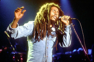 Bob Marley Performing Awesome 8X10 Photo