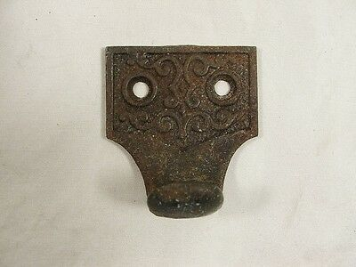 NOS Antique Eastlake Style Cast Iron Window Finger Pull