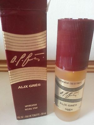 Rare New Vintage ALIX GRES Boxed Discontinued Perfume Chypre 1980's Collectors