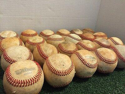 24 LEATHER BASEBALLS, Fast Shipping****