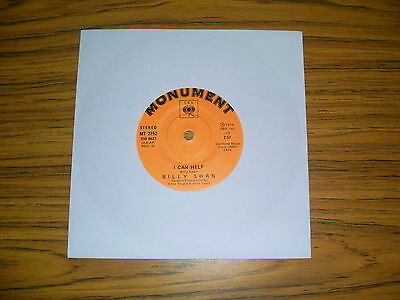 """Billy Swan - I Can Help (Monument 1974) 7"""" Single"""