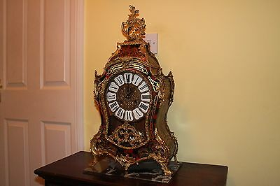 French Style Boule Mantel Clock