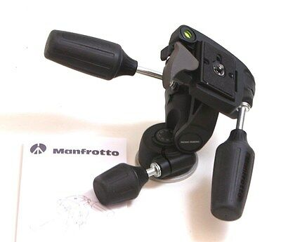 Manfrotto 804RC2 Standard 3-Way Tripod Head with Quick Release