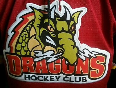 Dorchester Dragons Game Worn Jersey  OMHA Boone Jenner Blue Jackets