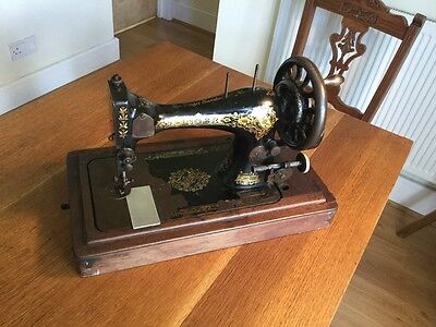 Antique Sewing Machine Display Use Spares/ Repair