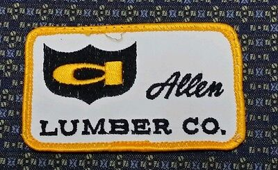ALLEN LUMBER CO. Sew-On Patch