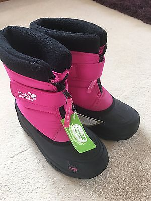 **brand New** Muddy Puddles Girls Snow Boots Size 13