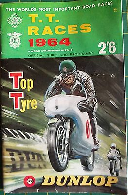 Isle of Man T.T. Races Official Guide & Programme – 1964