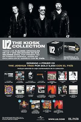 U2 The Kiosk Collection box set COMPLETE !