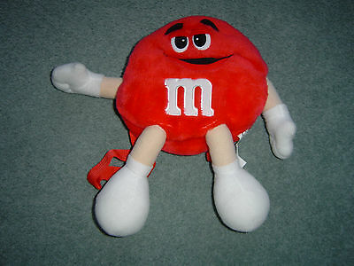 M&M Character Back Pack Red