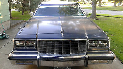 1982 Buick Electra Chrome 1982 Buick Electra Park Avenue Two Door Coupe'