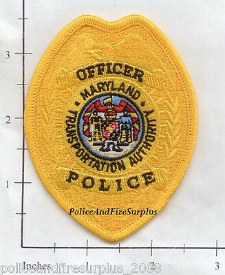 Maryland - Maryland Transportation Authority MD Police Dept Patch