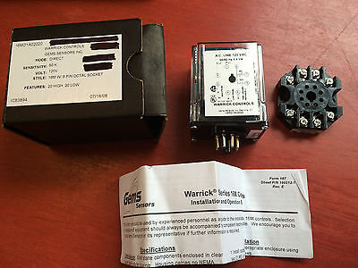 Warwick 16MD1A02020 Relay 120V - BRAND NEW - FREE EXPEDITED SHIPPING