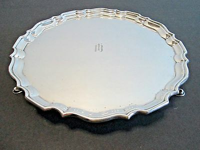 Antique TIFFANY & CO. Sterling Silver Salver Tray