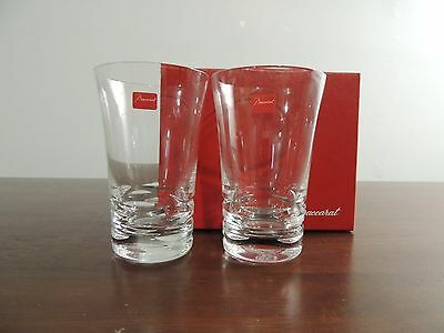 Baccarat Clear Crystal Highball - Set Of 2 - New With Box