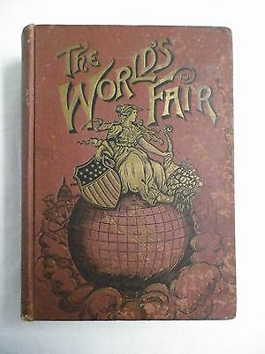 World's Fair Illustrated Book 1892 Chicago Star Publishing Hardback H.G. Cutler