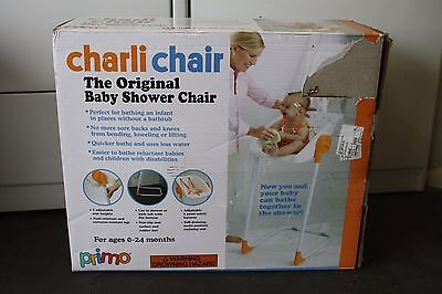 Primo Charli Baby Shower Chair, White