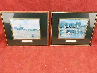 very fine prints of paintings by Claude Monet, The Poppy Field + 2nd, attractive