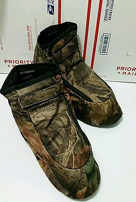 Arctic Shield Camouflage Boot Covers Insulators Hunting ETC Medium Size (8-9)